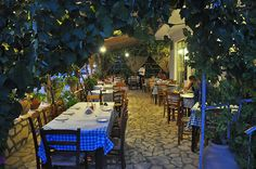 Brouklis - Arillas, Corfu..... A FABULOUS AND WELL KNOWN RESTAURANT