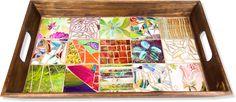 Mosaico Com Vidros Pintados à Mão — Cursos | Revista Artesanato