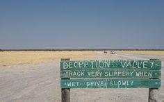 Legendäres Deception Valley - Central Kalahari Game Reserve in Botswana