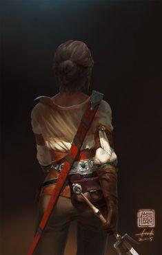 Ciri, Kan Liu(666K信譞) on ArtStation at https://www.artstation.com/artwork/ciri-6db3bbb9-e070-413e-be6e-4ef53b6a4580