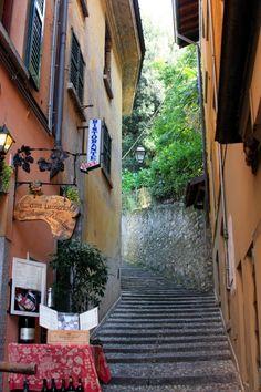 Bellagio Alley,Italy