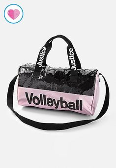 Justice is your one-stop-shop for on-trend styles in tween girls clothing & accessories. Shop our Volleyball Flip Sequin Duffle Bag. Tween Girls, Diy For Girls, Kids Gym, Justice Clothing, Cheap Bags, Girl Backpacks, Girls Bags, Cute Bags, Casual Bags