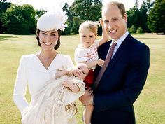 Princess Charlotte's Official Christening Portraits Are Here, and They're So Adorable