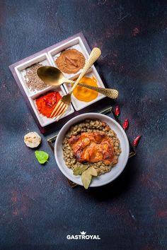 Tandoori csirkecombfilé, fűszeres lencseágyon #food #fooddelivery #gastroyal #chickenlegs