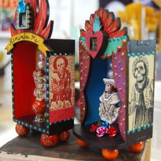 Mini Day of the Dead Shrines - 2013