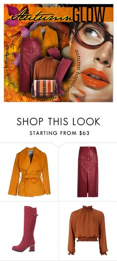 """""""Autumn Glow"""" by amymrbll ❤ liked on Polyvore featuring L'Oréal Paris, MARY JANE, Chloé, Cinq à Sept, Trilogy and Tory Burch"""