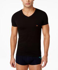 Emporio Armani Men's V-Neck Undershirt
