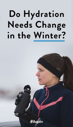 Hydration is crucial no matter what time of year it is. Experts weigh in on how cold weather affects our workouts and our need for water. Winter Running, Outdoor Workouts, Cold Weather, Winter Hats, Change, Drink, Water, Funny, Food