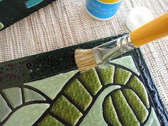 Como fazer a técnica de artesanato do falso mosaico - Vila do Artesão