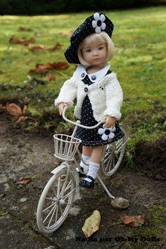 Attention le noir et blanc arrive en force sur Oh My Dolls !!!