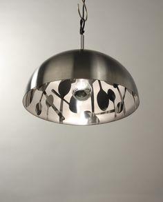 Edelstahl Leuchte/ stainless steel lamp  mei mei design