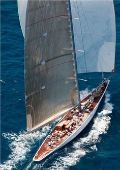 J-class Sailing - Seatech Marine Products & Daily Watermakers