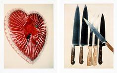 Andy Warhol- Still life Polaroids shot between 1977 and 1983