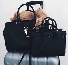Louis Vuitton Monogram Canvas Mini Pochette Accessoires – The Fashion Mart Backpack Purse, Purse Wallet, Clutch Bag, Ysl Bag, Sacs Design, Cute Bags, Mode Style, Luxury Bags, Beautiful Bags