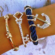 Marine Tessa Stack $50 -- So cute. Looks like @Candace Renee Renee Robinson johnson 's style