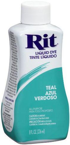 Rit Dye Liquid Fabric Dye, 8-Ounce, Teal Rit Dye,http://www.amazon.com/dp/B002766FGI/ref=cm_sw_r_pi_dp_wWbNsb0AJ6M9Y3VX