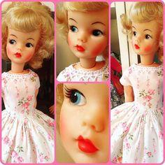 Vintage Girls, Vintage Barbie, Vintage Toys, Sindy Doll, Barbie Dolls, Tammy Doll, Doll Dresses, Hello Dolly, Valentine Decorations