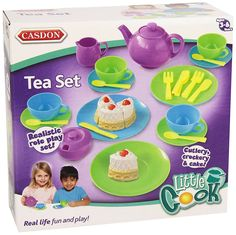 Casdon Tea Set - http://amzn.to/2ueeoZ5