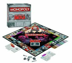 The Walking Dead Collector's Edition Monopoly Board Game   eBay