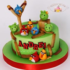Tort Angry Birds pentru Andrei