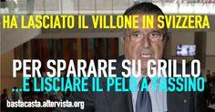 DE BENEDETTI HA LASCIATO IL VILLONE PER VENIRE IN ITALIA A FARE CAMPAGNA ELETTORALE PER IL PD: INSULTI A GRILLO E COMPLIMENTI (SIC) A FASSINO!