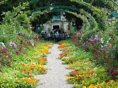 Claude Monet's house and garden in Giverney