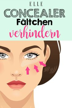 Mit diesem Trick verhinderst du Concealer-Fältchen - Care - Skin care , beauty ideas and skin care tips Natural Hair Mask, Natural Hair Styles, Natural Beauty, Natural Makeup, Concealer Tips, Creme Anti Age, Homemade Shampoo, Skin Tag Removal, Les Rides