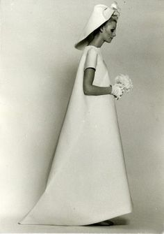 vintage Balenciaga wedding dress