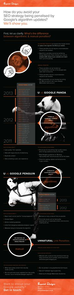 Google penalties #infografia #infographic #seo #seoservicescompanies.in