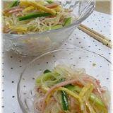 タレが決めてお酢で元気!中華風春雨サラダ☆