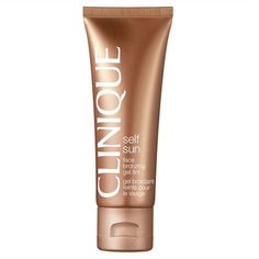 Clinique Face Bronzing Gel Tint (200 SEK) ❤ liked on Polyvore featuring beauty products, makeup, cheek makeup, cheek bronzer, beauty, faces, filler and clinique