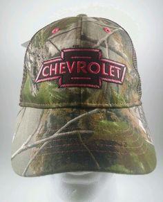 11cb95e2422 CHEVROLET GM Chevy REALTREE APG Women s Baseball Cap Hat Camo   Pink  Adjustable  GMINFINITYHEADWEAR  BaseballCap  Casual