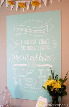 FINALLY! {non cheezy} Christ-centered Easter decorations. TONS of printables! Totally pin this.