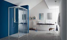 Box doccia Perseo - ARBLU Bath Screens, Folding Doors, Shower Enclosure, Divider, Bathtub, Mirror, Bathroom, Design, Furniture
