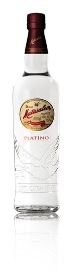 Matusalem Platino - A unique combination of triple-distilled and double-filtered rum with an exceptionally clean aroma and a delicately balanced and subtle flavor. An equivalent to a Solera 3 blending process. The unique bottle boasts a modern design, highlighting its singularity and history. This is a perfect option for those who enjoy a sophisticated rum, and for those who tend to drink premium and super premium vodkas. (tasting notes...)