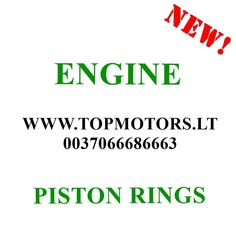 MINI COOPER S CLUBMAN S R55S R56S R57S R55 R56 R57 N14 N14B16 N14B16A 1.6 16V PETROL 2006 2007 2008 2009 2010 NEW RINGS FOR 1 PISTON