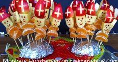 Vooruit. Nog één Sinterklaastraktatie dan dit jaar. Omdat het zo'n prachtig plaatje is. Èn omdat het gezonde traktaties zijn.   Sinterklaa... December, Cake, Desserts, Kindergarten, Food, Pie Cake, Tailgate Desserts, Kinder Garden, Pastel