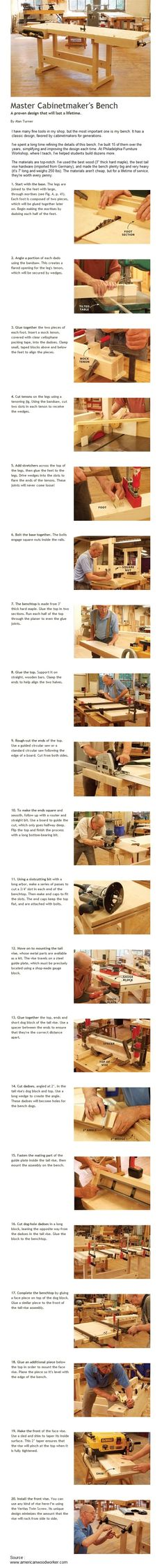 +Master+Cabinetmaker's+Bench+|+WoodworkerZ.com