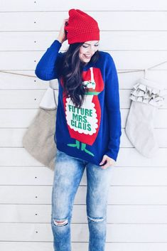 The greatest ideas for your new Christmas sweaters you'll totally want to wear.