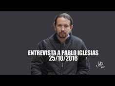 PABO IGLESIAS (Podemos) - Rueda de prensa tras REUNIÓN con el REY (25/10/2016) - YouTube