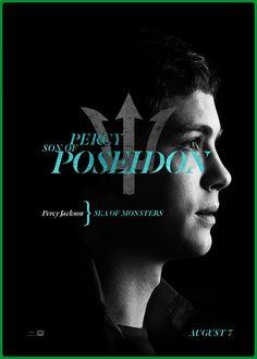 Percy Jackson. Son of Poseidon.