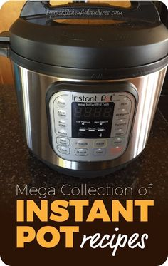 If you are looking for Instant Pot Recipes this list of Instant Pot Recipes is for you! It includes chicken, beef, pork, and more.