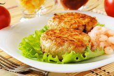 Galettes de thon, moutarde de Dijon, citrons et herbes fraîches Tuna Patties, Easy Cooking, Fresh Herbs, Salmon Burgers, Entrees, Cauliflower, Seafood, Lunch, Fish