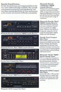 Radios, Porsche 924, Car Audio Systems, Volkswagen Group, Motorbikes, Trucks, Electronics, Cars, Vintage