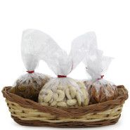 A gift that includes 250 gms kaju, 250 gms Raisin and 250 gms Almond. All presented in a cute Jute basket. A healthy and tasty gift for all. Engagement Gift Baskets, Wedding Gift Baskets, Engagement Gifts, Wedding Gifts, Dry Fruit Basket, Corporate Diwali Gifts, Sweet Hampers, Rakhi Gifts, Raksha Bandhan