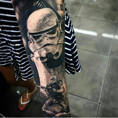 stormtrooper sleeve tattoo