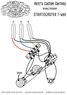 on david gilmour fender wiring diagram