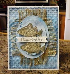 Birthday Fishes by nwilliams6 - Cards and Paper Crafts at Splitcoaststampers