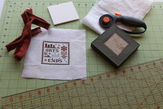 learn to finish your embroidery work with tutorials from blogger: The Twisted Stitcher