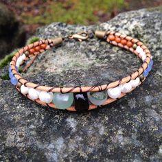 New Bohemian Bracelet! Leather Wood Fresh Water Pearls Chrysocolla Quartz Smokey Quartz Handmade Local Jewelry! --- Available to purchase on Etsy at wanderlustwrists.etsy.com --> Link in bio #bracelet #bracelets #handmade #handmadebracelet #handmadejewelry #local #etsy #wanderlust #travel #explore #victoria #leather #travelbracelet #crystalproperties #healing #bohemian #jewelry #wrapbracelet #chanluu #christmasgift #stockingstuffers #etsysuccess #smokeyquartz #pearls #freshwaterpearls…